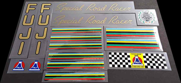 Fuji Special Road Racer Bicycle Decal Set