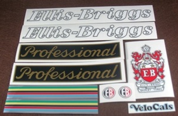 Ellis-Briggs Professional Bicycle Decal Set