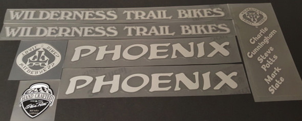 WTB Wilderness Trail Bikes Phoenix Bicycle Decal Set