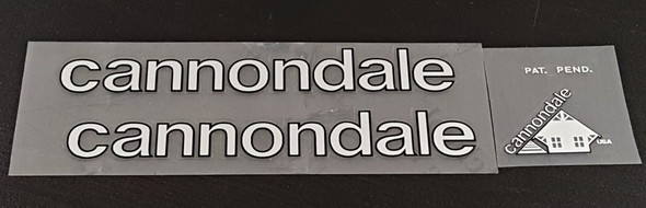 Cannondale Bicycle Classic Decal Set