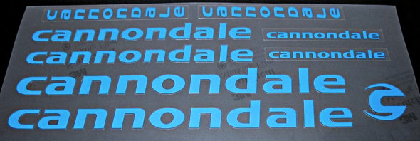 Cannondale Bicycle Decal Set