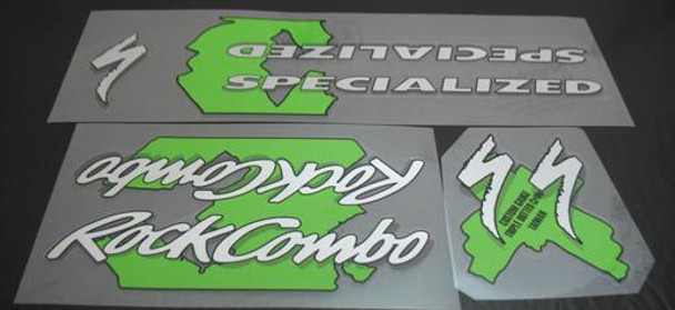 Specialized Rock Combo Decal Set