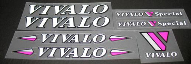 VIVALO Special Bicycle Decal Set