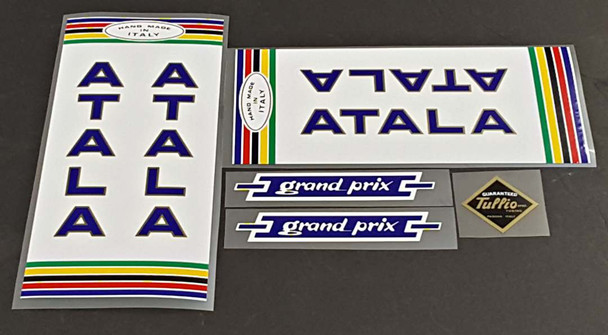Atala 1974 Bicycle Decal Set