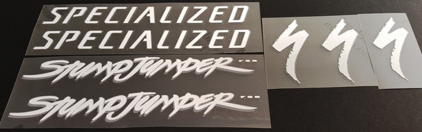 Specialized 1995 StumpJumper FSR Bicycle Decal Set
