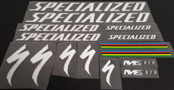 Specialized M2 PRO Bicycle Decal Set