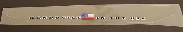 """Trek """"Handbuilt in USA"""" Chain Stay Protector Decal - Choice of Color"""