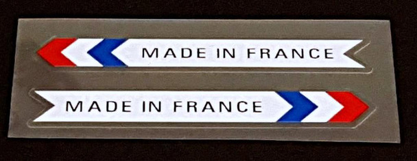 Peugeot  Made in France Decals - 1 Pair