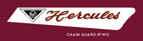 Hercules AMF Chain Stay Protector Decal