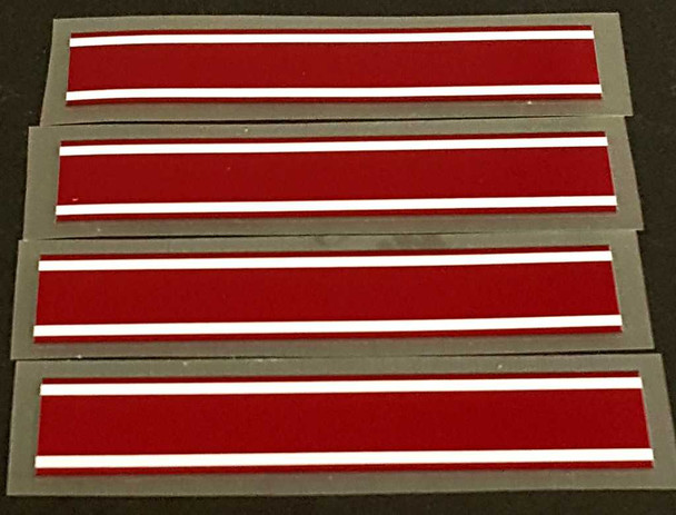 Schwinn Wide Bands - Choice of Color with White Pinstripe - Set of 4
