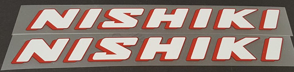 Nishiki Down Tube Decals - 1 Pair - Choice of Colors