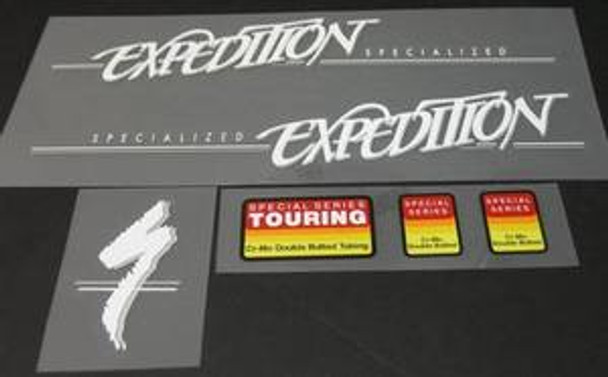 Specialized Expedition Decal Set