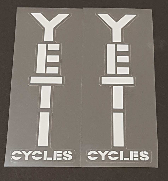 Yeti Cycles Stay Decals - 1 Pair - Choose Color