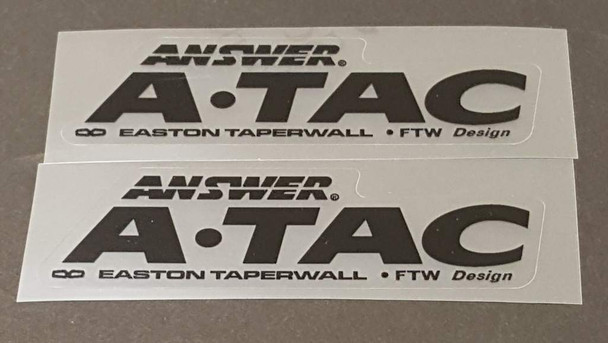 Yeti Answer A-Tac Stem Decals - 1 Pair - Choose Color
