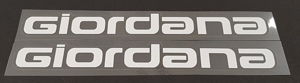 Giordana Down Tube (Seat Tube) Decals - 1 Pair - Choose Color