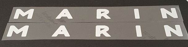 Marin Down Tube Decals - 1 Pair - Choose Color