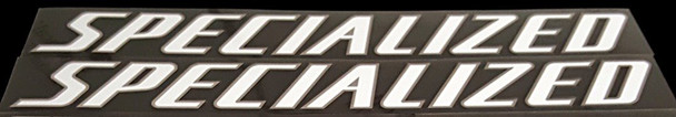 Specialized Down Tube Decals--1 Pair Cut Vinyl--Choice of color