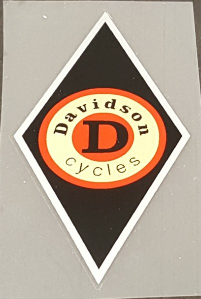Davidson Head Badge Decal - Choice of Colors