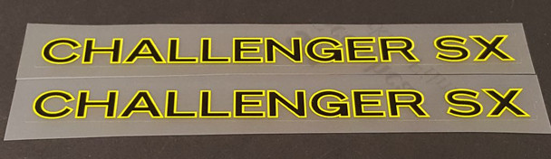 Lotus Bicycle Challenger SX Top Tube Decals - 1 Pair - Choose Colors