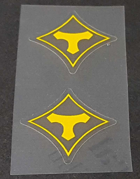 Tommasini Bicycle Fork Decals - 1 Pair - Choose Color