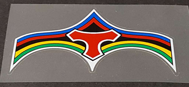 Tommasini Bicycle Logo Chevron Decal