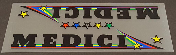 Medici Bicycle Down Tube Panel Decal - Choose Color