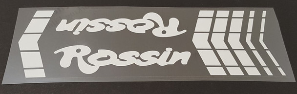 Rossin Top Tube Wrap Decal - Choose Color