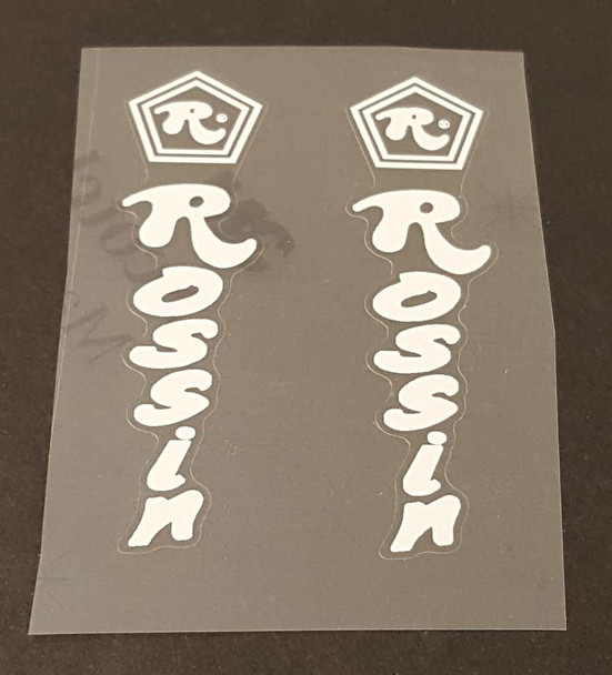 Rossin Stay Decals - 1 Pair - Choose Color