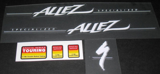 Specialized Allez Decal Set - White/Silver
