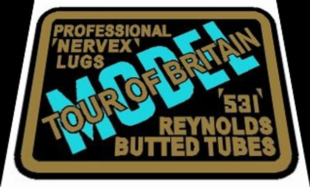 Jack Taylor Reynolds Tubing Decal - Tour of Britain