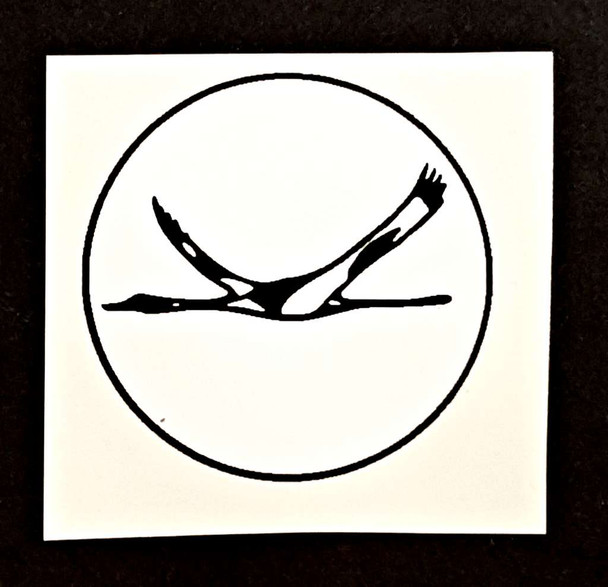 Technobull Bicycle Flying Goose Decal