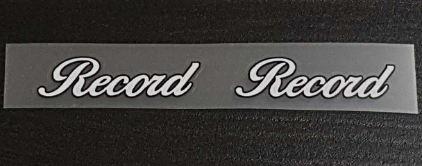 Raleigh Record Bicycle Tube Decals - 1 Pair - Choose Colors