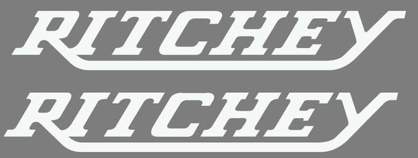 Ritchey Large Down Tube Decals - 1 Pair - Choose Colors