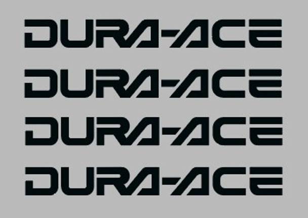 Shimano / Dura-Ace Badge Component Decal 42mm - 2 Pair - Choose Color