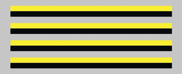 Eddy Merckx Black and Yellow Bands Decals - Set of 4