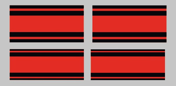 Fuji BMX Seat Stay and Fork Stripes Decals - 1 Pair - Choose Colors
