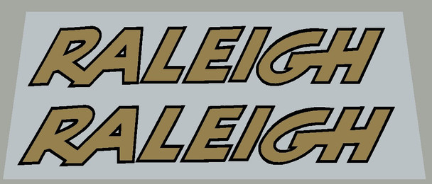 Raleigh Chainguard Decals - 1 Pair - Choose Colors