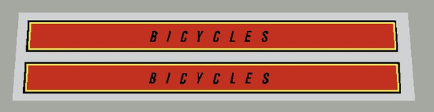 Ross Bicycle Stripes - 1 Pair - Choose Colors