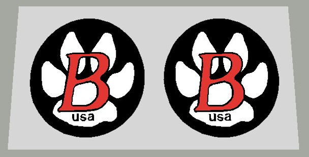 Bontrager Fork Brace Decal Small- 1 Pair - Choose Colors