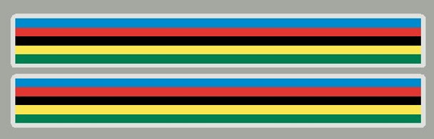 Windsor Stripes Decals 10mm x 90mm- 1 Pair