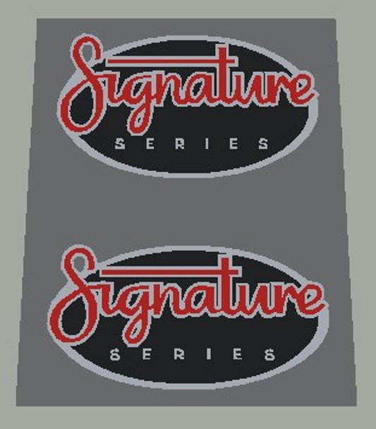 Rocky Mountain Signature Series Decals - 1 Pair