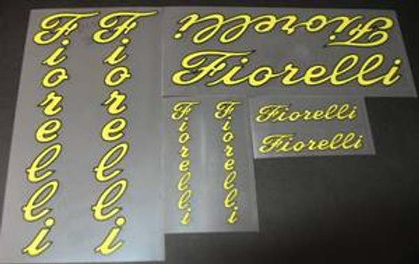 Fiorelli Bicycle Decal Set