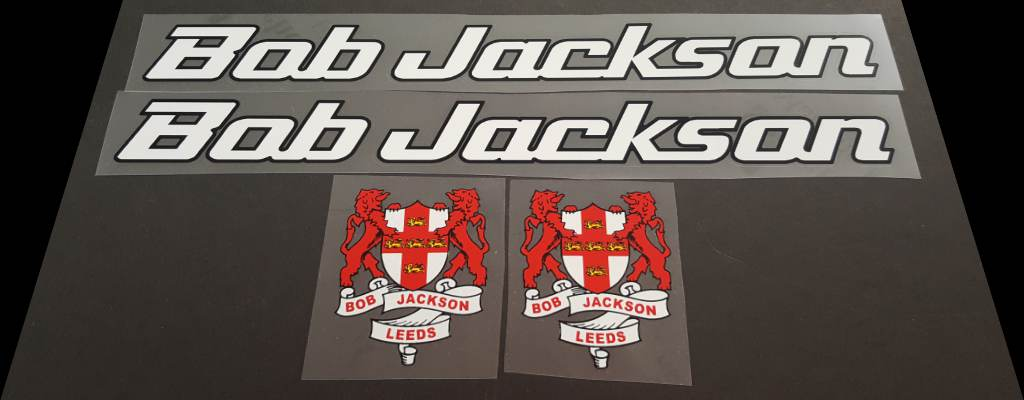 Bob Jackson Bicycle Decal Set #3