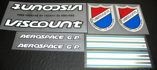 Viscount Aerospace GP decal set (sku 820)