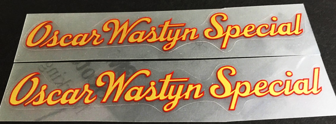 Oscar Wastyn Special Decals