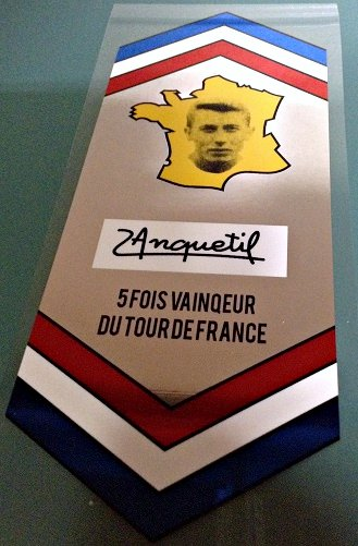 Jacques Anquetil Chrome Seat Tube Wrap 1
