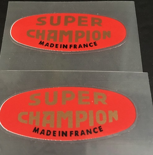 Super Champion Rim Decals - Set of 2