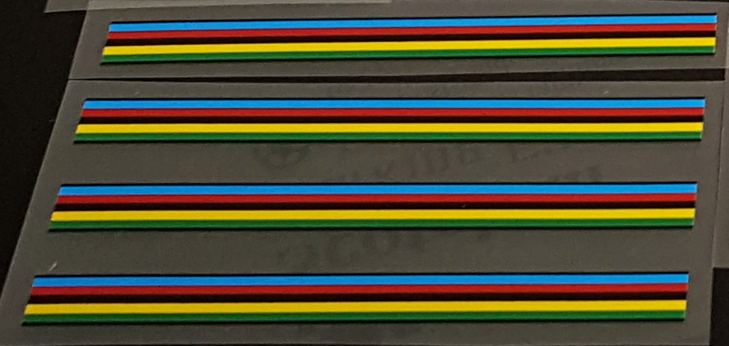 Olympic Stripes with Black outline (Holdsworth)