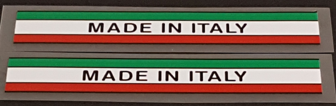 Made in Italy - Colored Bands - 1 Pair