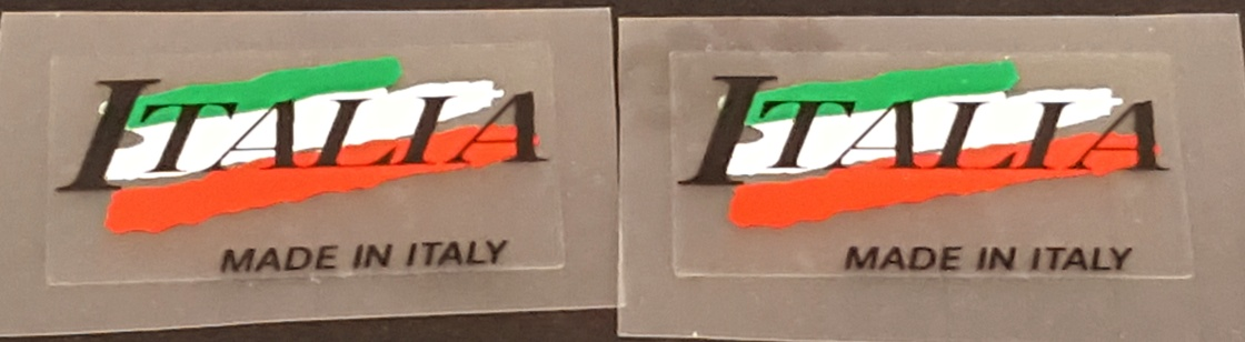 Made in Italy Decals - Color Swash (1Pair)